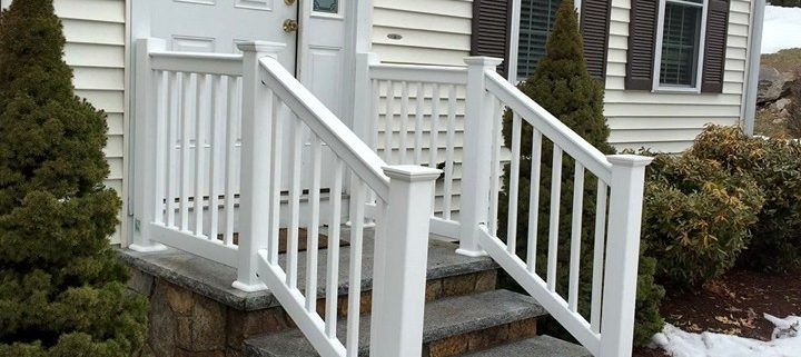 White Vinyl Railing Ashland Massachusetts
