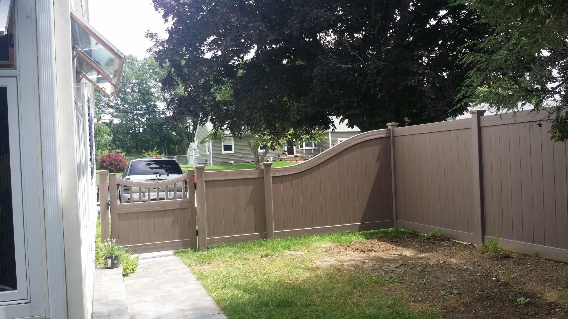 vinyl privacy fences5 vinyl
