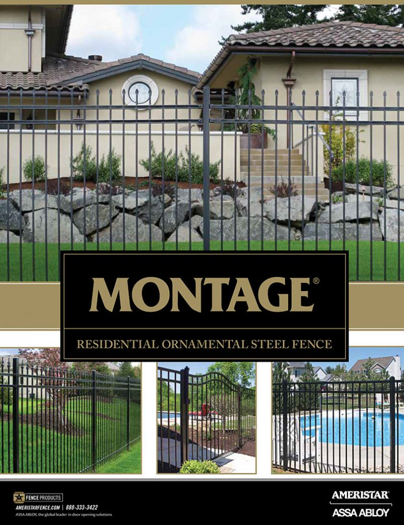 Montage Residential Ornamental Steel Fence