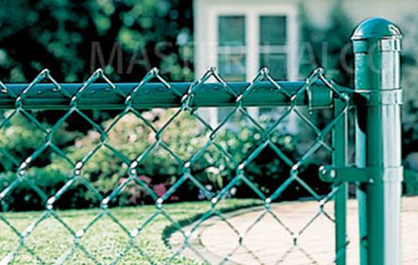 Chain link miller fence