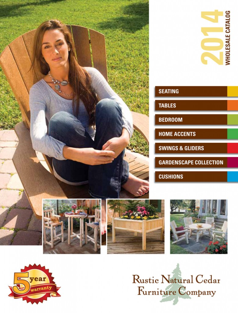 Rustic Cedar Furniture Brochure