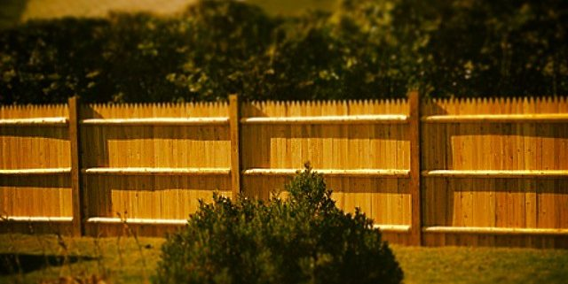 Wood Privacy Fence Shrewsbury Ma