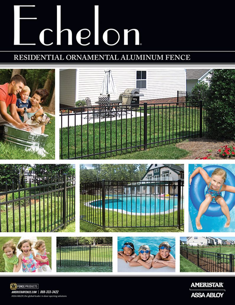 Ameristar Echelon Residential Ornamental Aluminum Fence