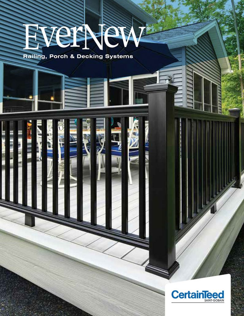 Evernew Railing Porch & Decking Systems