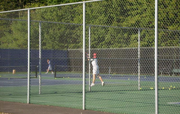 Galvanized Tennis Court Fence Systems