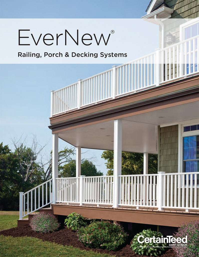 EverNew Railing, Porch & Decking Systems Borchure