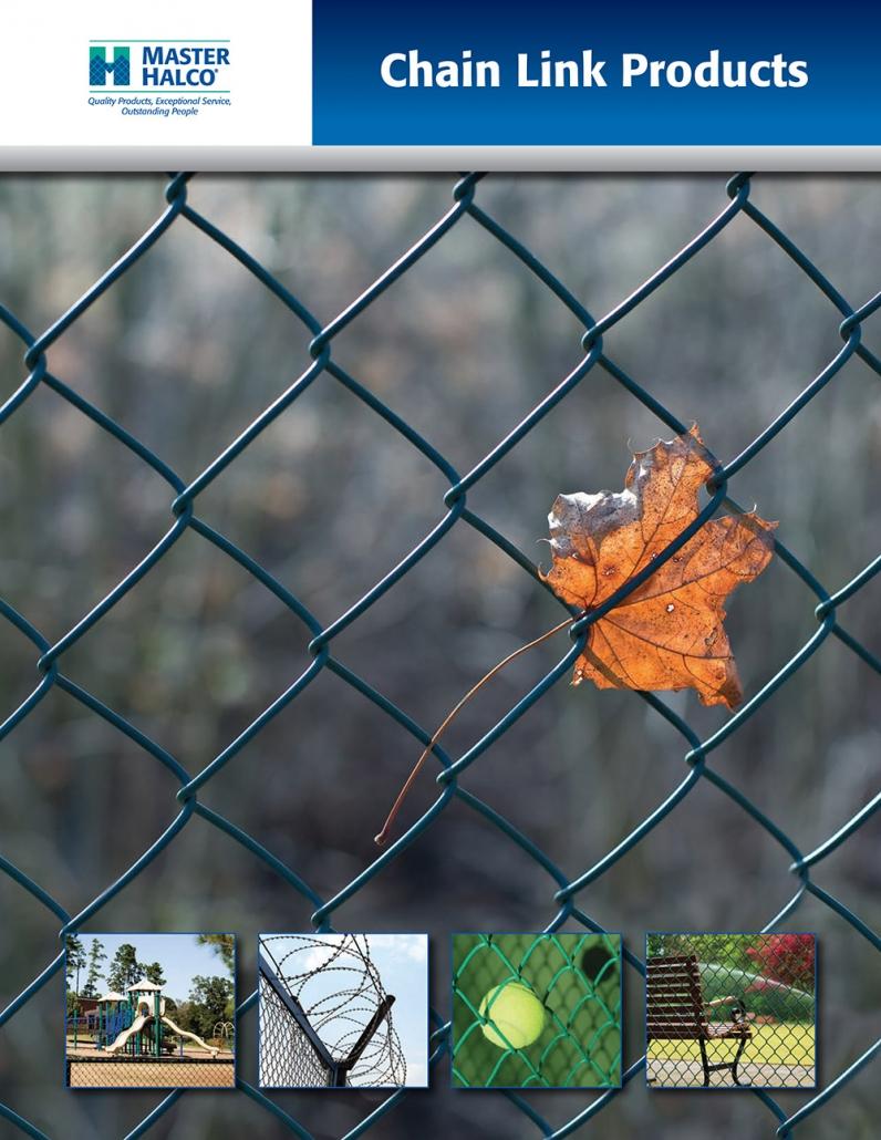 Master Halco Chain Link Fencing Brochure